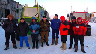 Russians in the Arctic. Russian MLAE-2011 Expedition on Golomyanniy islan