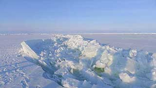 Ridges forming in Kara Sea